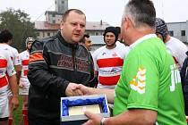 Prezident vyškovského ragbyového klubu Jiří Vinter (na snímku) zvládl organizaci loňského evropského šampionátu hráčů do dvaceti let excelentně. Letos na něj chtějí dobře navázat.
