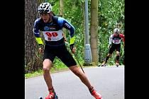 Dva tituly v mistra republiky v biatlonu v kategorii dorostu získal drnovický odchovanec v dresu SK Nové Město na Moravě Jan Burian.