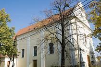 Kostel sv. Jakuba a Filipa v Královopolských Vážanech. Ilustrační fotografie.