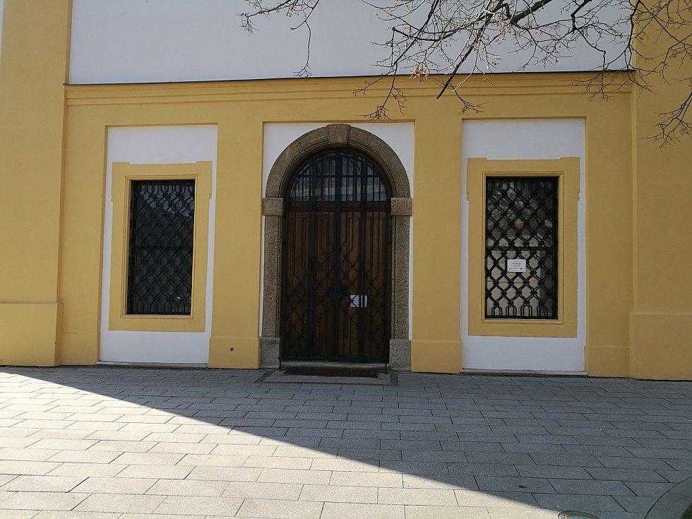 Kostel svaté Maří Magdalény.