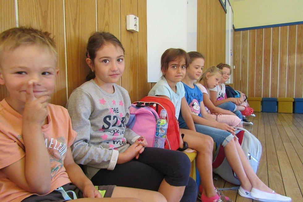 Děti zjistily, jak poskytnout první pomoc a ošetřit nejrůznější poranění.