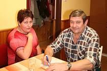 Raymund Marák s manželkou Danou.
