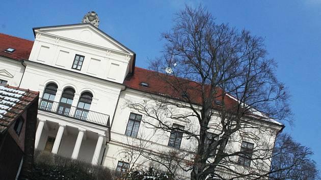 Zámek v Habrovanech. Ilustrační fotografie.