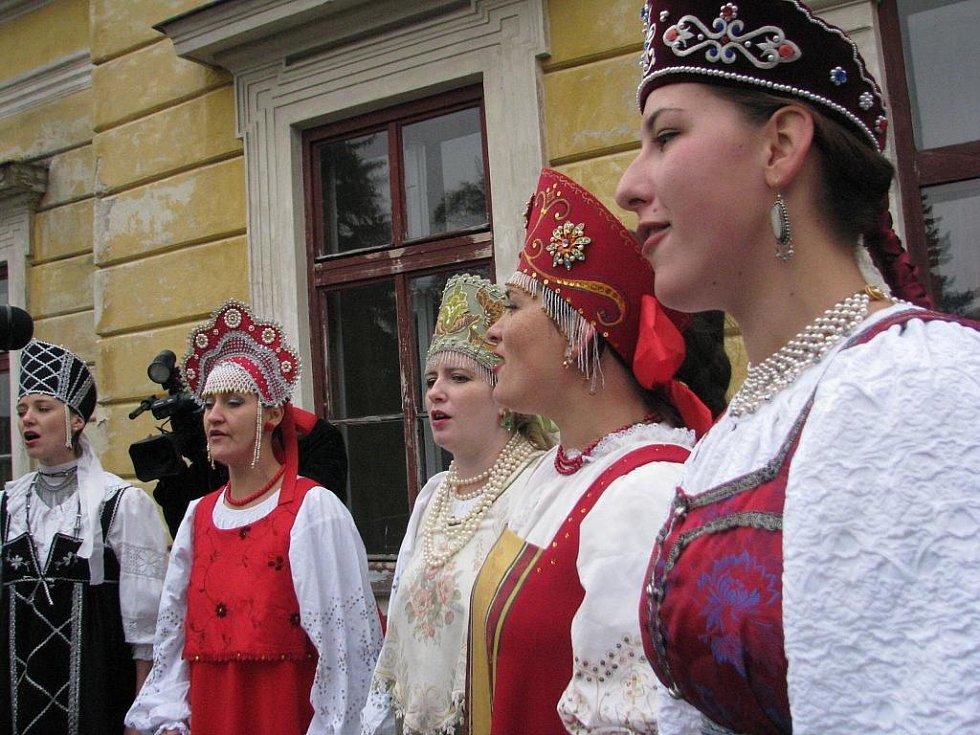 Carské slavnosti v Bohdalicích.