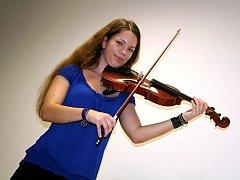 Kateřina Micková z Lulče v šestnácti letech tančí, hraje na housle a učí se pět cizích jazyků.
