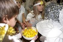V Otnicích na Vyškovsku byl vytvořen nový rekord v počtu andělů, kterých se sešlo 86.