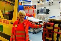 Iva Mittnerová odešla z vyškovské záchranky po téměř čtyřiceti letech.