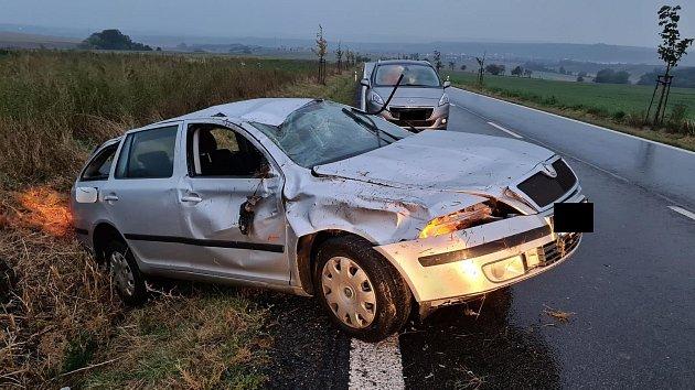Nehoda poblíž obce Nížkovice