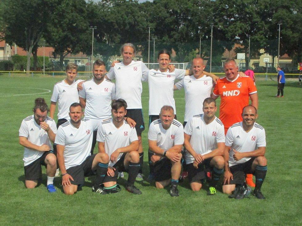 Pohárový turnaj fotbalistů ve Vážanech nad Litavou - Heršpice.