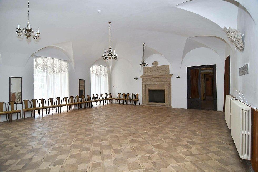 Zámek Račice a jeho okolí. Foto: e-Finance, a.s