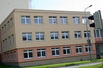 Budova bývalého Okresního stavebního podniku ve Vyškově.