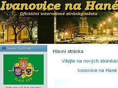 Ivanovice na Hané letos úplně změnily svoje webové stránky.