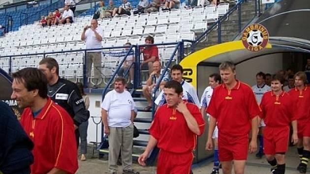 Z útrob moderního drnovického fotbalového stadionu už zase bude vycházet pravidelně domácí družstvo mužů. Jejich první zápas ve známém prostředí se jim vydařil skvěle, když rozdrtili Milonice.