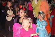 V Ivanovicích na Hané se sešlo přes sto dětí na Maškarním karnevalu.