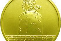 Mince České národní banky s vyobrazením ruprechtovského mlýna.