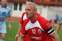 V dohrávce 4. kola moravskoslezské divize D porazili fotbalisté MFK Vyškov tým ČSK Uherský Brod 5:1.