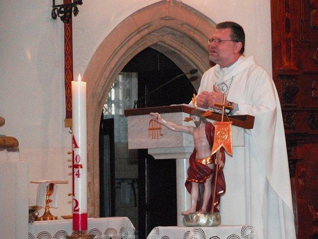 František Cinciala je knězem už dvacet let. Čtvrtým rokem působí ve Vyškově.