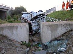Tragická autonehoda na 239. kilometru dálnice D1 u Ivanovic na Hané.