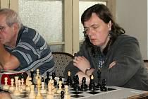 Hráčka a trenérka šachového SK Vyškov Radka Slepánková.