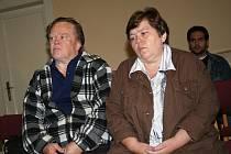 Rosnerovi dnes bojují o děti u vyškovského Okresního soudu