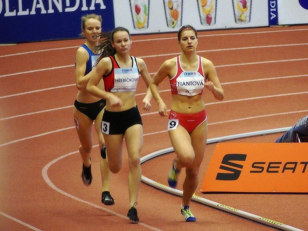 Sabina Fiantová, běžkyně AK AHA Vyškov.