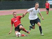 V utkání 3. kola Moravskoslezské ligy (MSFL) porazili fotbalisté MFK Vyškov FK Hodonín 7:4.