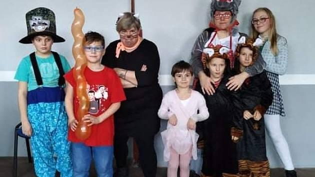 Maškarní karneval ve Vážanech nad Litavou