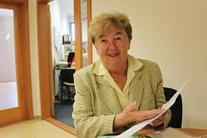 77letá Jana Pavlíková je od roku 2003 předsedkyní Klubu českých turistů ve Vyškově.