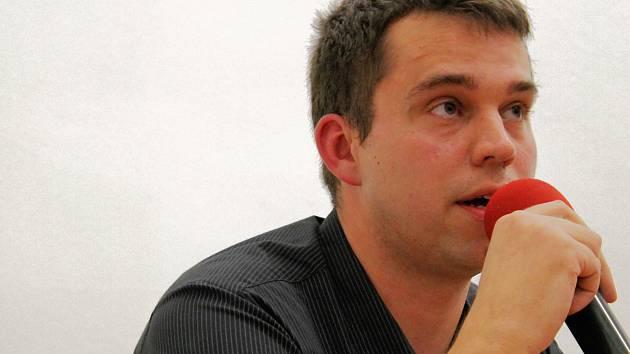 Redaktor Vyškovského deníku Rovnost David Mach.