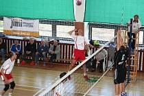 Volejbalisté Bučovic na domácí palubovce porazili třetí tým tabulky z Drásova.