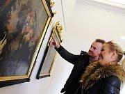 Běžně jsou ukryté v depozitářích, nyní mají lidé možnost zhlédnout barokní obrazy ve vlastnictví Muzea Vyškovska na výstavě.