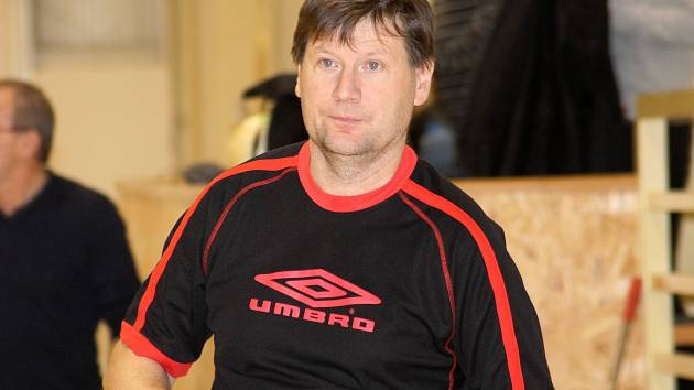 Antonín Petlach, prezident futsalistů Amoru Lazor Vyškov, II. liga