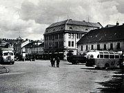 Původní jádro Nádražní ulice v Bučovicích