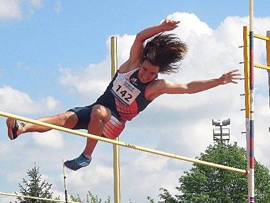 Atlet Jiří Osolsobě. Ilustrační foto.