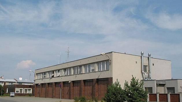 Budova  vyškovského požárního sboru.