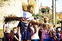 Lulečtí zničili Morenu symoblizující Smrt, a přivítali tak jaro.