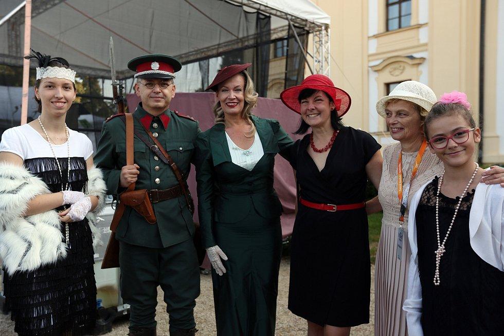 Tradiční Veteranfest se nesl mimo jiné v duchu První republiky.
