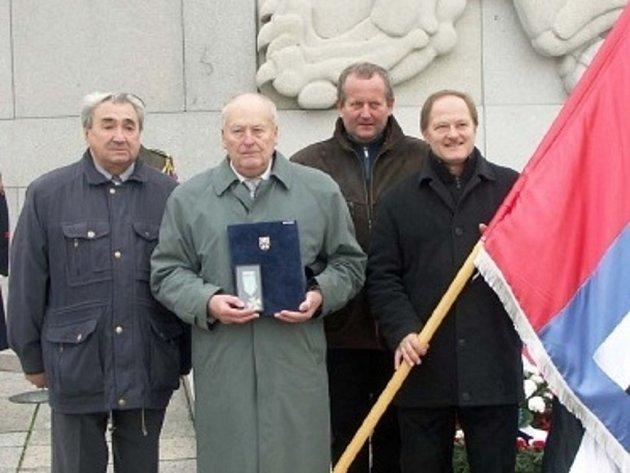 Nesovický rodák František Král dostal záslužný kříž in memoriam.