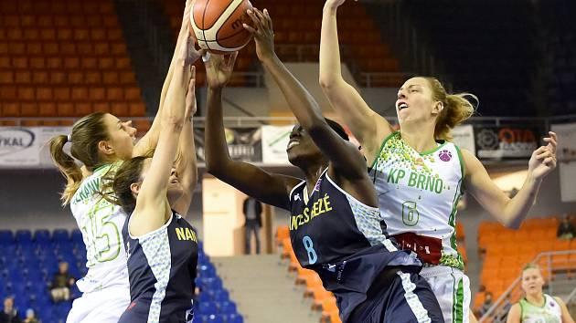 Basketbalistky KP Brno. Ilustrační foto.