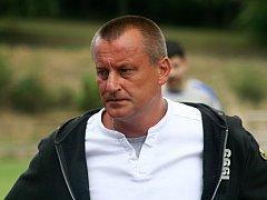 Trenér fotbalistů FC Bučovice Ladislav Kachlík.