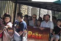 Vyškov chce do centra vozit turisty dinovláčkem.