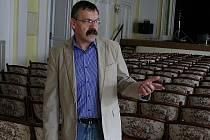 Ředitel Městského kulturního střediska ve Vyškově Luboš Kadlec.