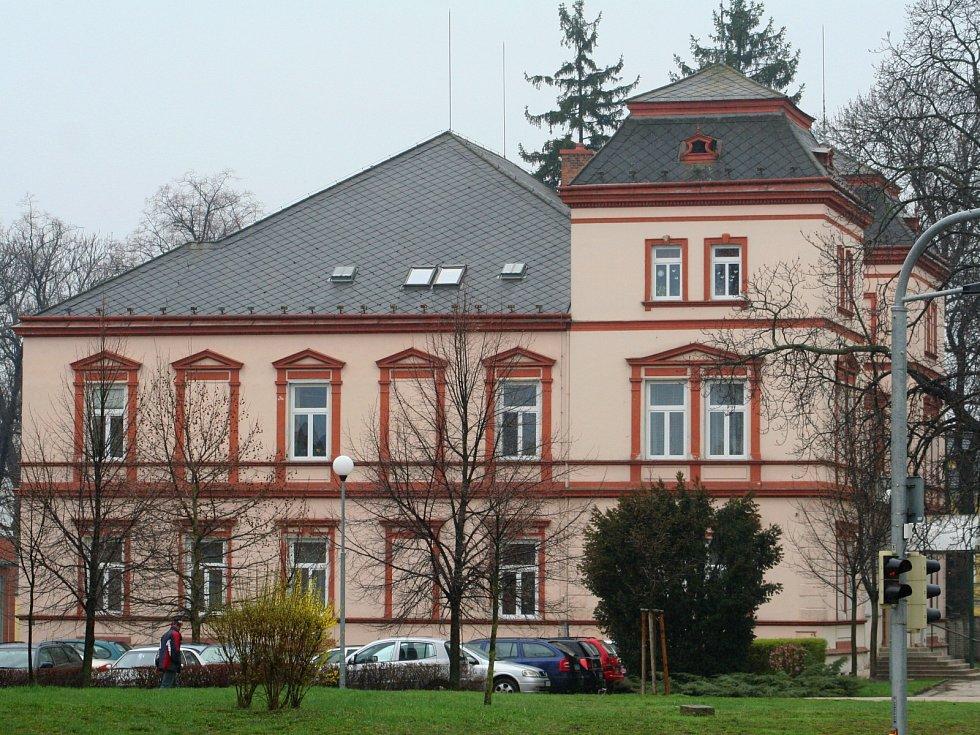 Dům dětí a mládeže ve Vyškově.