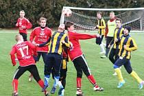 V dalším přípravném utkání na své umélě trávě porazili fotbalisté MFK Vyškov účastníka české divizní skupiny C FC Svitavy 2:0.