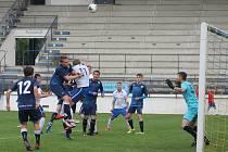 Ve svém prvním utkání letní přípravy podlehl MFK Vyškov Blansku 1:2. Zápas se hrál na stadionu v Drnovicích.
