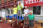 Atleti z AK Drnovice uspěli při Běhu okolo Vyškova.