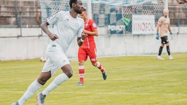 Rodák z Pobřeží slonoviny Ahmed Fofana zajistil fotbalistům MFK Vyškov první druholigový bod.