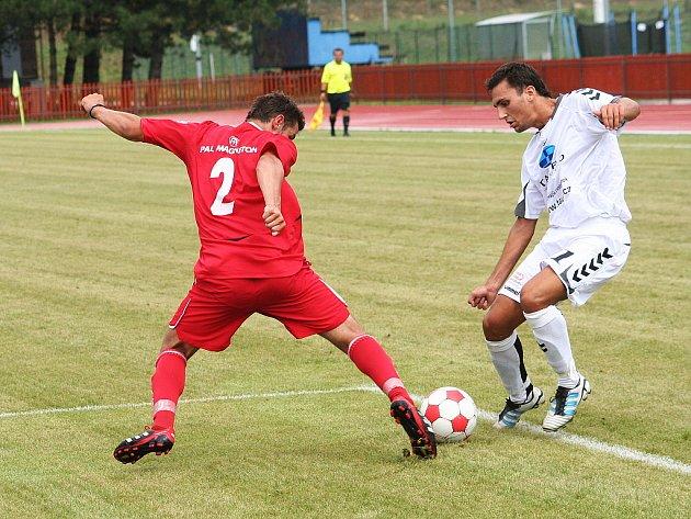 V posledním přípravném utkání na start divize remizovali fotbalisté MFK Vyškov v Hulíně s účastníkem MSFL 1:1.