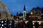 I letos žáci tradičně zavítali do rakouské metropole vdobě Adventu.