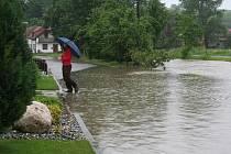 Vyškovsko opět postihly záplavy.
